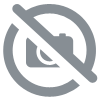 HOLLY 65 Brocade Black/Silver - Sandale salomé